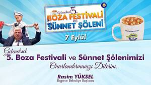Geleneksel 5.Boza Festivali ve Sünnet Şöleni