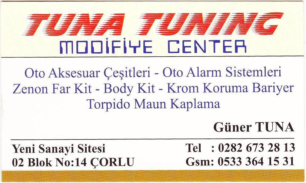 Tuna Tuning