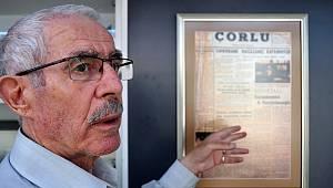 Çorlu'nun İlk Gazetesi 57 Yaşında