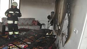 Elektrik Sobası Yangın Çıkarttı