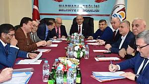 Başkan Albayrak Marmara Ereğlisi Belediyesinin Meclis Toplantısına Katıldı
