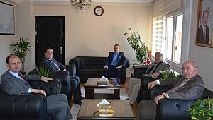 Başkan Albayrak'tan Marmara Ereğlisi Kaymakamlığına Ziyaret