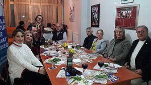 Çorlu Kültür ve Sanat Derneği Üyeleri Bir Araya Geldi
