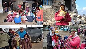 Depremzede Çocuklara Yürüyen Ayaklar Grubundan Destek