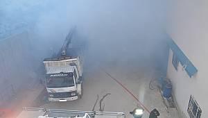 Geri Dönüşüm Firmasında Korkutan Yangın