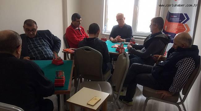 Tekirdağ Tabip Odası Briç Turnuvası Düzenlendi