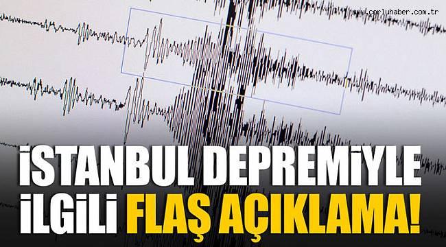 Bakandan Flaş İstanbul Depremi Açıklaması