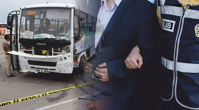 2 Kişinin Öldüğü Halk Otobüsü Şoförü Tutuklandı