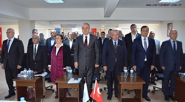 Başkan Albayrak Muratlı'da Muhtarlarla Buluştu