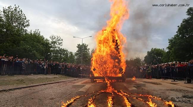 Festival Ateşi Çocuklar İçin Yandı