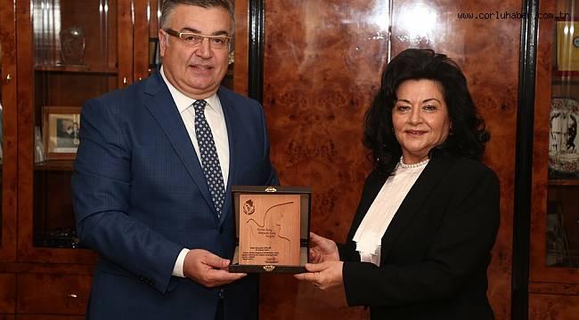 Vali Civelek'ten Kesimoğlu'na Veda Ziyareti