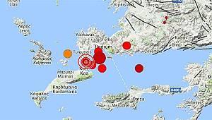 Ege'de 6,3 Şiddetinde Deprem