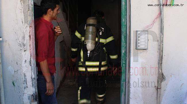 Şofbenden Çıkan Yangın Korkuttu