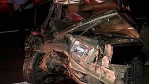 Kazadan Sonra Kaçan Sürücü Baygın Bulundu