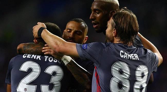 Beşiktaş deplasmanda Porto'ya 3'te 3 Yaptı