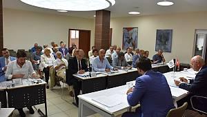 Süleymanpaşa Belediye Meclisi Eylül ayı toplantısı yapıldı