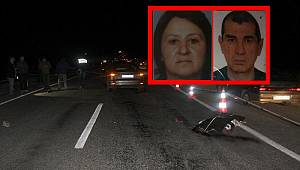 Feci Kazada Karı-Koca Hayatını Kaybetti