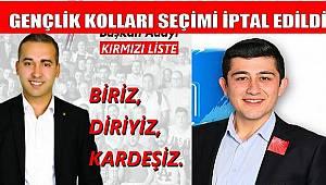 CHP Gençlik Kolları Seçimi İptal Edildi