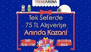 Trend Arena'da Yılbaşı Alışverişi Kazandıracak