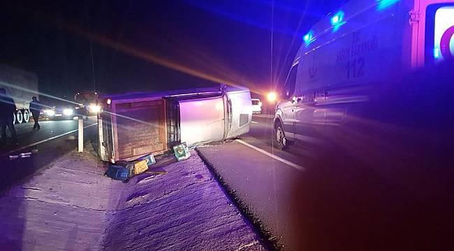 4 Araç Birbirine Girdi, 1 Ölü 7 Yaralı