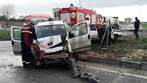 Aynı Kavşakta Yine Kaza, 1 Yaralı