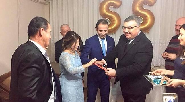 Başkan Kesimoğlu Gazi Özdere'ye Kız İstedi