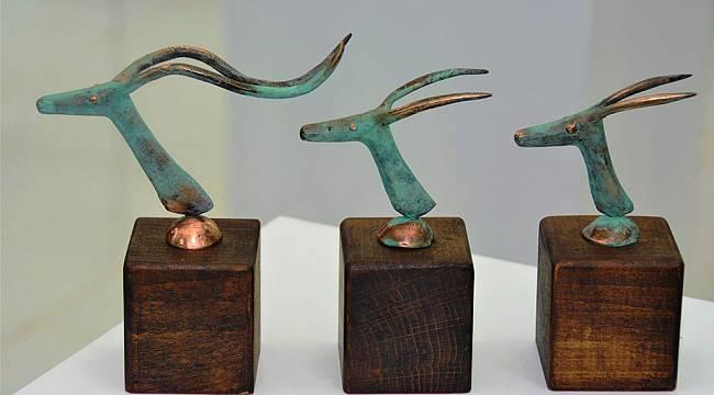 Bir Bronz Sahtiyan Heykel Sergisi Bisanthe Sanat ve Tasarım Galerisi'nde Açıldı