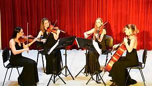 Nemeth Quartet Tekirdağlılara müzik ziyafeti verdi