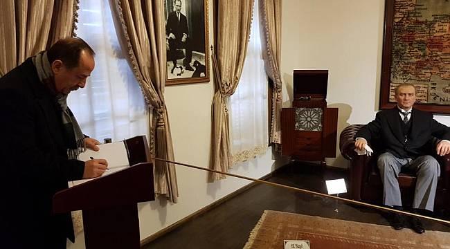 Recep Gürkan'dan Atatürk Evi'ne Ziyaret
