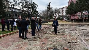 Atatürk Parkı'nda Çalışmalar Başladı
