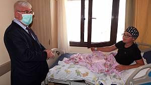 Başkan Rasim Yüksel'den Barış'a Moral Ziyareti