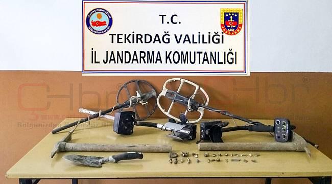 Definecilere Jandarma'dan Suçüstü