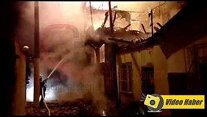 Metruk Binada Çıkan Yangın 2 Eve Sıçradı