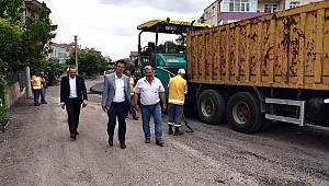 Başkan Sarıkurt Asfalt Çalışmalarını İnceledi