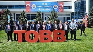 Çorlu TSO TOBB'un 74. Genel kuruluna katıldı