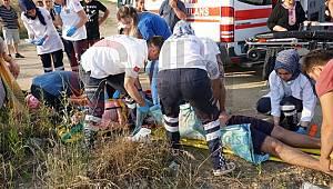 Evlerine 50 Metre Kala Kaza Yaptılar, 1 Ölü 3 Yaralı