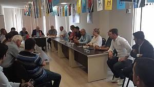 Milletvekili Enez Kaplan'dan İlçe Yönetimine Ziyaret