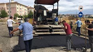 Süleymanpaşa Belediyesi asfalt sezonunu Karadeniz Mahallesi ile açtı
