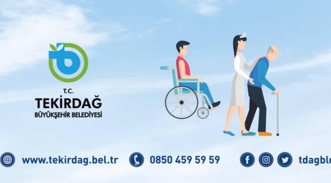 Tekirdağ'da Engelli Vatandaşlar Sandığa Ücretsiz Taşınacak