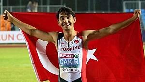 Atletizmde Çorlulu Batuhan'dan Altın Madalya