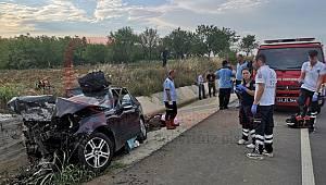 Katliam Gibi Kaza, 3 Ölü 1 Ağır Yaralı