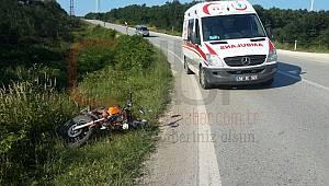 Saray'da Motosikletler Çarpıştı, 2 Yaralı