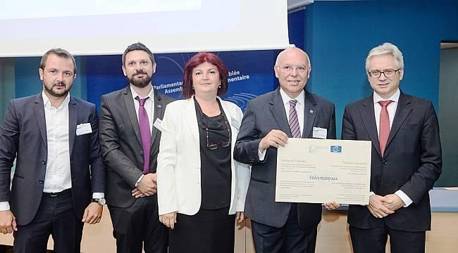 Süleymanpaşa Belediyesi'ne Avrupa Konseyi'nden Dev Ödül