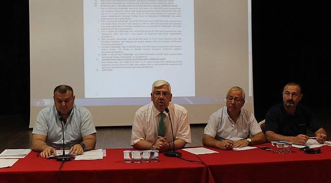 Temmuz Ayı Olağan Meclis Toplantısı Yapıldı