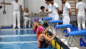 Yüzme Milli Takım İl Seçmeleri Çorlu'da Yapıldı