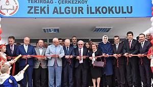 Başkan Albayrak Zeki Algur İlkokulu Açılış Törenine Katıldı