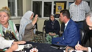 Başkan Sarıkurt'tan Şahbaz ve Türkgücü Mahallelerimize Ziyaret