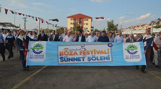 Ergene'de Geleneksel 5.Boza Festivali ve Sünnet Şöleni Kutlandı