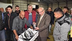 Başkan Kadir Albayrak'tan Süleymanpaşalı Balıkçılara Ziyaret