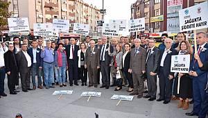 Tekirdağ Büyükşehir Belediyesi Personelinden Sağlık Çalışanlarına Destek